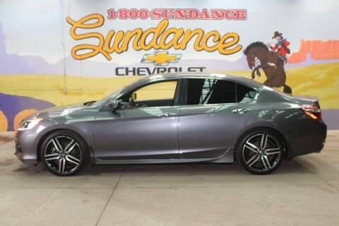 2017 Honda Accord for sale at Sundance Chevrolet in Grand Ledge MI