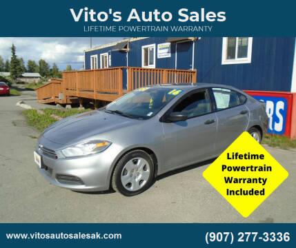 2016 Dodge Dart for sale at Vito's Auto Sales in Anchorage AK