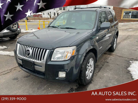 2008 Mercury Mariner for sale at AA Auto Sales Inc. in Gary IN