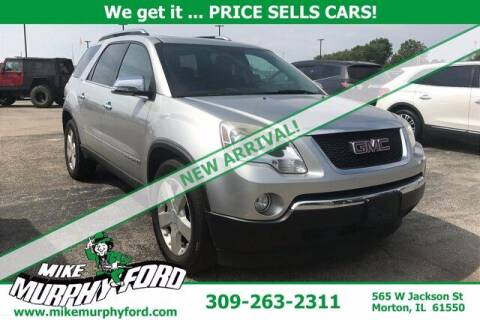 2008 GMC Acadia for sale at Mike Murphy Ford in Morton IL