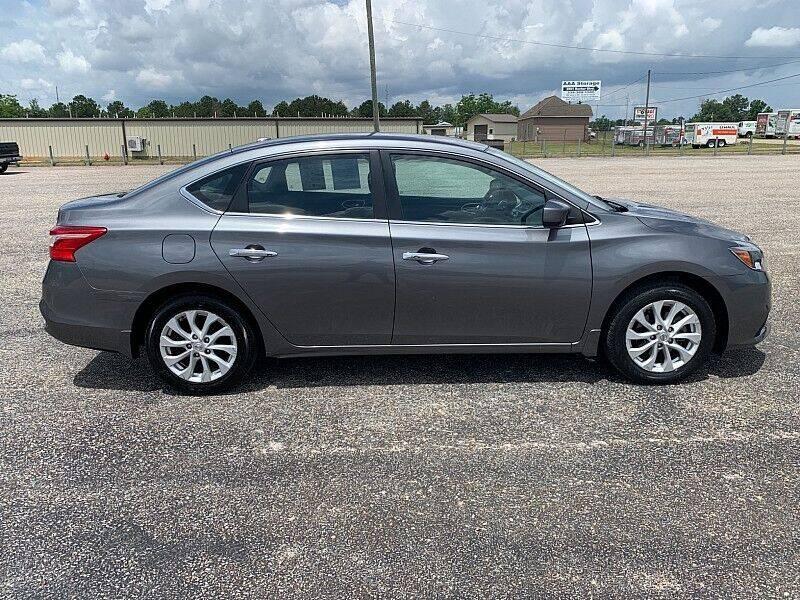 2018 Nissan Sentra for sale at C & H AUTO SALES WITH RICARDO ZAMORA in Daleville AL