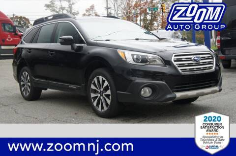 2015 Subaru Outback for sale at Zoom Auto Group in Parsippany NJ