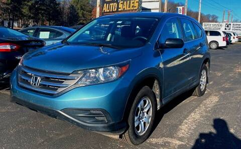 2014 Honda CR-V for sale at Affordable Auto Sales in Webster WI