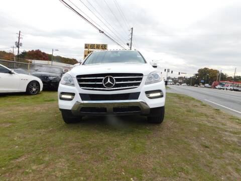 2014 Mercedes-Benz M-Class for sale at Atlanta Fine Cars in Jonesboro GA