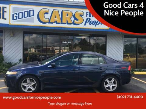 2004 Acura TL for sale at Good Cars 4 Nice People in Omaha NE