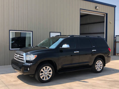 2012 Toyota Sequoia for sale at TEXAS CAR PLACE in Lubbock TX