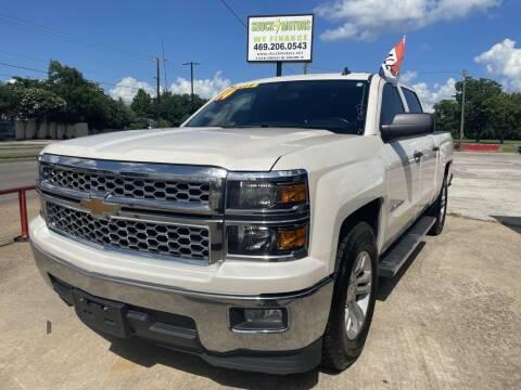 2014 Chevrolet Silverado 1500 for sale at Shock Motors in Garland TX