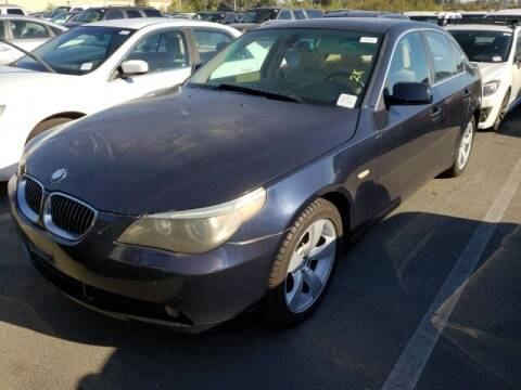 2007 BMW 5 Series for sale at SoCal Auto Auction in Ontario CA