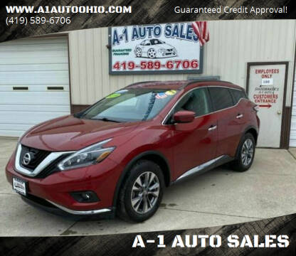 2018 Nissan Murano for sale at A-1 AUTO SALES in Mansfield OH