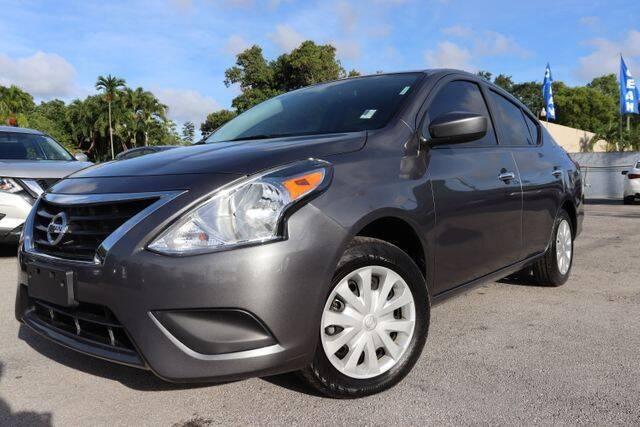 2019 Nissan Versa for sale at OCEAN AUTO SALES in Miami FL
