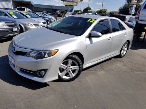 2012 Toyota Camry for sale at Universal Motors in Glendora CA