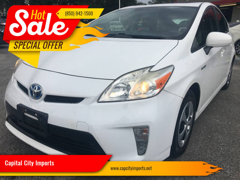 2014 Toyota Prius for sale at Capital City Imports in Tallahassee FL
