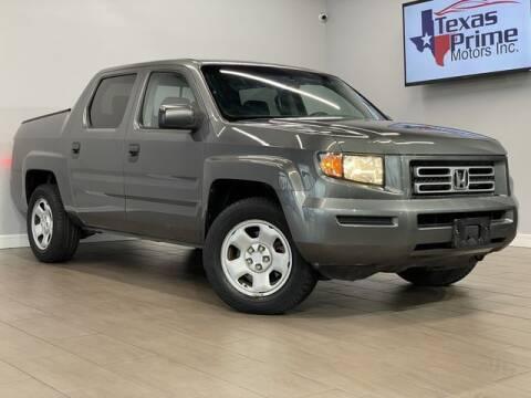 2008 Honda Ridgeline for sale at Texas Prime Motors in Houston TX