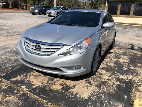 2013 Hyundai Sonata for sale at Beach Cars in Fort Walton Beach FL