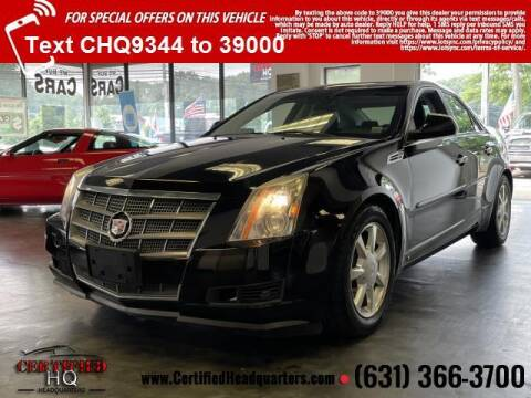 2008 Cadillac CTS for sale at CERTIFIED HEADQUARTERS in Saint James NY