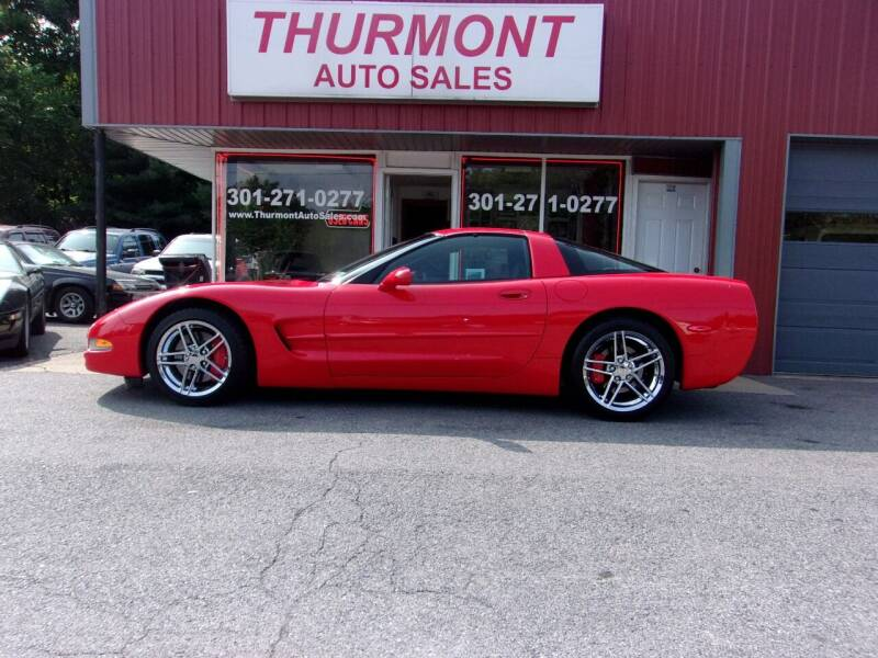 1999 Chevrolet Corvette for sale at THURMONT AUTO SALES in Thurmont MD