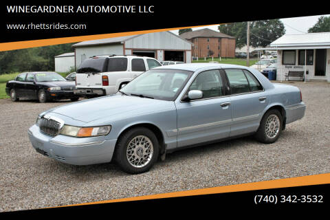 2002 Mercury Grand Marquis for sale at WINEGARDNER AUTOMOTIVE LLC in New Lexington OH