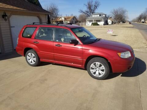 2008 Subaru Forester for sale at Eastern Motors in Altus OK