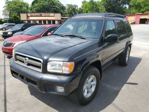 2003 Nissan Pathfinder for sale at THE TRAIN AUTO SALES & RENTALS in Taylors SC