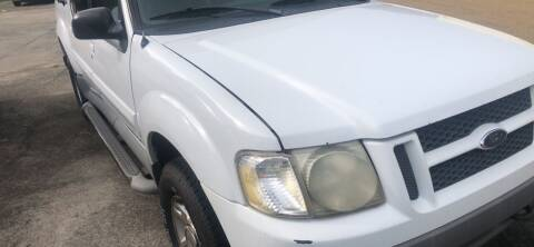 2001 Ford Explorer Sport Trac for sale at Quality Wholesale Center Inc in Baton Rouge LA