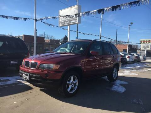 2002 BMW X5 for sale at Dino Auto Sales in Omaha NE