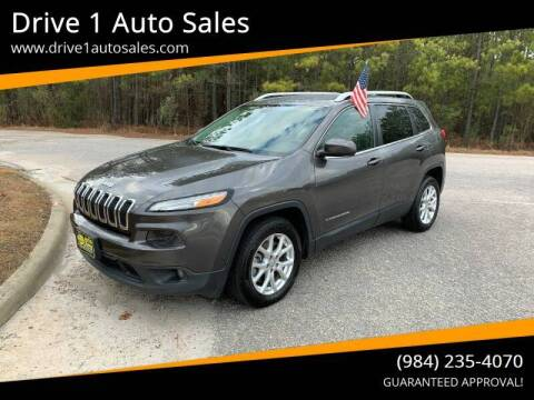 2014 Jeep Cherokee for sale at Drive 1 Auto Sales in Wake Forest NC
