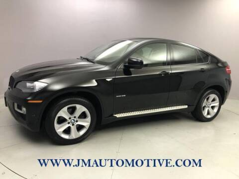 2013 BMW X6 for sale at J & M Automotive in Naugatuck CT