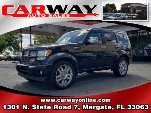2011 Dodge Nitro for sale at CARWAY Auto Sales in Margate FL