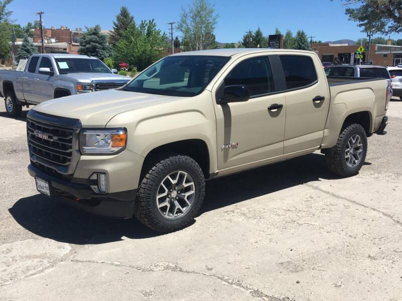 2021 GMC Canyon for sale at Northwest Auto Sales & Service Inc. in Meeker CO