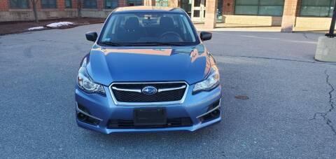 2016 Subaru Impreza for sale at EBN Auto Sales in Lowell MA