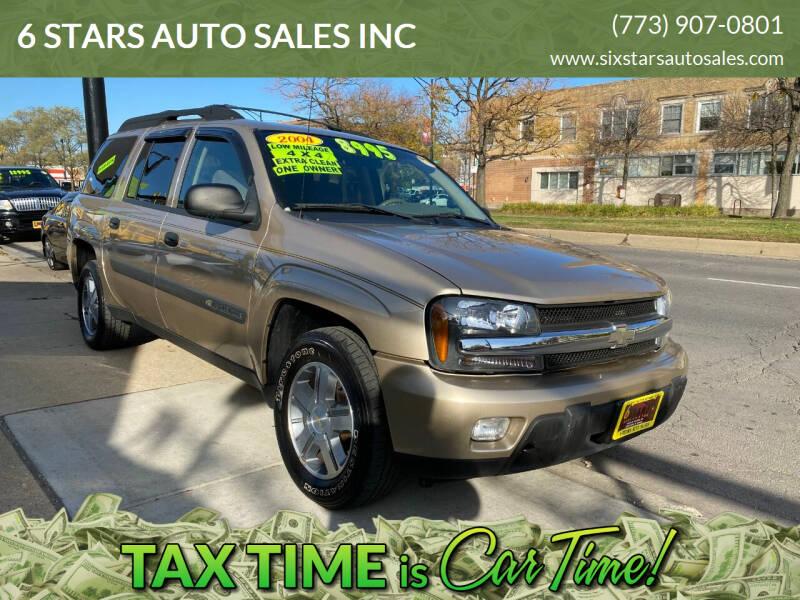 2004 Chevrolet TrailBlazer EXT for sale at 6 STARS AUTO SALES INC in Chicago IL