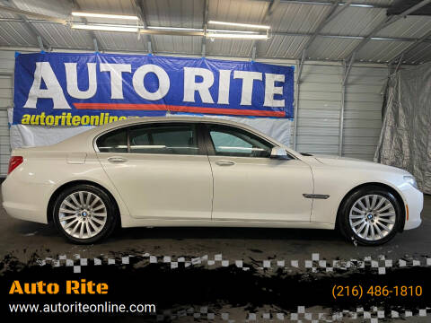 2011 BMW 7 Series for sale at Auto Rite in Cleveland OH