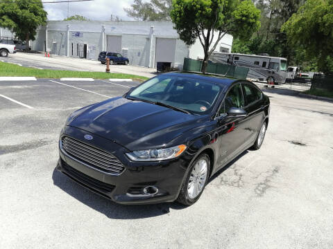 2014 Ford Fusion Energi for sale at Best Price Car Dealer in Hallandale Beach FL