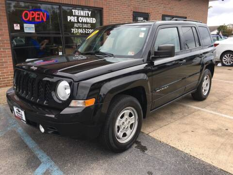2016 Jeep Patriot for sale at Bankruptcy Car Financing in Norfolk VA