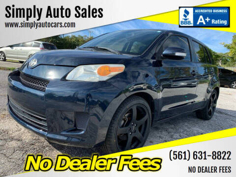 2012 Scion xD for sale at Simply Auto Sales in Palm Beach Gardens FL