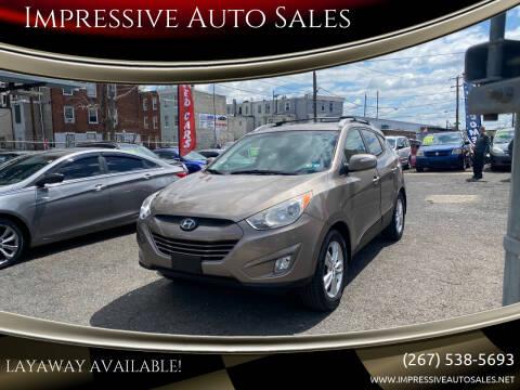 2013 Hyundai Tucson for sale at Impressive Auto Sales in Philadelphia PA