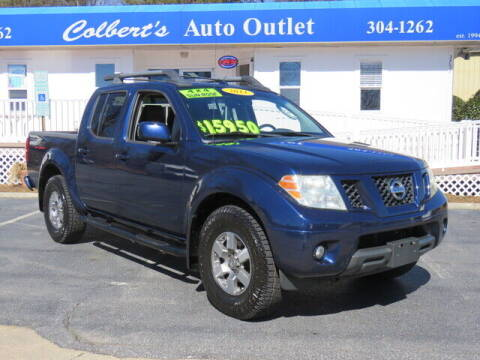 2011 Nissan Frontier for sale at Colbert's Auto Outlet in Hickory NC