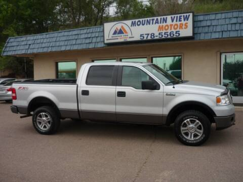 2007 Ford F-150 for sale at Mountain View Motors Inc in Colorado Springs CO