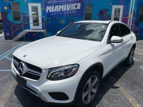 2017 Mercedes-Benz GLC for sale at Miami Vice Auto Sales in Miami FL
