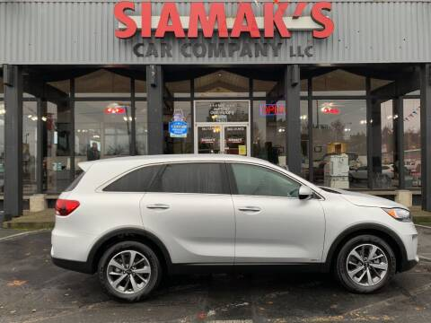 2020 Kia Sorento for sale at Siamak's Car Company llc in Salem OR
