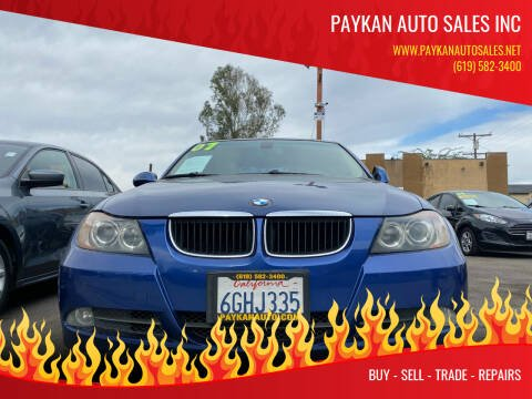 2007 BMW 3 Series for sale at Paykan Auto Sales Inc in San Diego CA