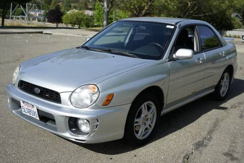 2003 Subaru Impreza for sale at Sports Plus Motor Group LLC in Sunnyvale CA