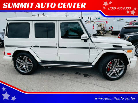 2013 Mercedes-Benz G-Class for sale at SUMMIT AUTO CENTER in Summit IL