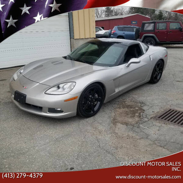 2005 Chevrolet Corvette for sale at Discount Motor Sales inc. in Ludlow MA