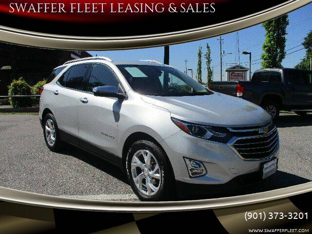 2018 Chevrolet Equinox for sale at SWAFFER FLEET LEASING & SALES in Memphis TN