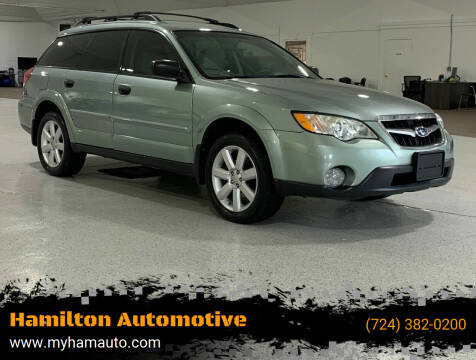 2009 Subaru Outback for sale at Hamilton Automotive in North Huntingdon PA
