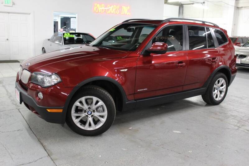 2010 BMW X3 for sale at R n B Cars Inc. in Denver CO