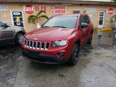 2015 Jeep Compass for sale at VALDO AUTO SALES in Miami FL