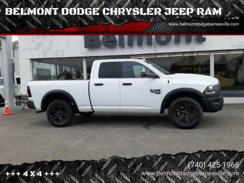 2021 RAM Ram Pickup 1500 Classic for sale at BELMONT DODGE CHRYSLER JEEP RAM in Barnesville OH
