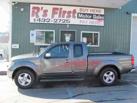 2006 Nissan Frontier for sale at R's First Motor Sales Inc in Cambridge OH